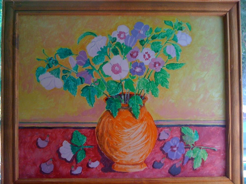 Flori de nalba din natura si in pictura (2/3)