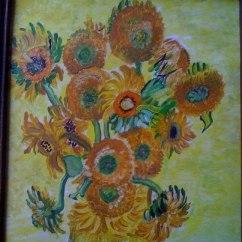 tablou cu floarea soarelui