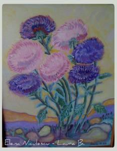 tablou crizanteme in gradina 2011