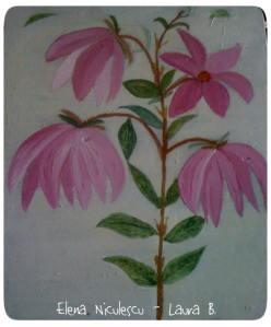 magnolie roz pe lemn apr '14