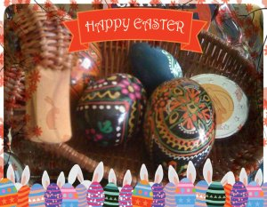 aranj de paste Happy Easter