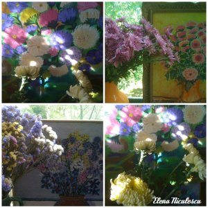 collage-cu-flori-si-tablouri